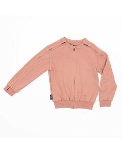 Bluza z rozpinanymi rękawami Różowa