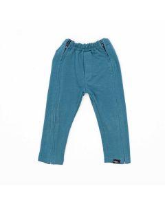 Spodnie rozpinane Niebieski