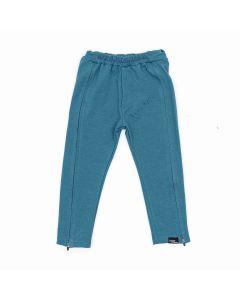 Spodnie z zamkami do pasa Niebieskie